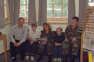 Keith and Melissa the author with her children