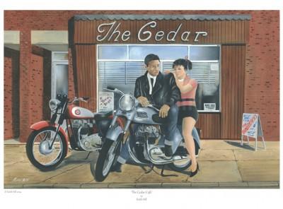 -A4 Print- The Cedar Cafe