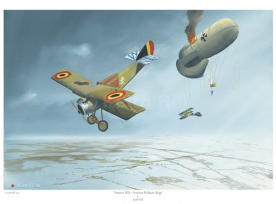 -A4 Print- Hanriot HDI – Aviation Militaire Belge