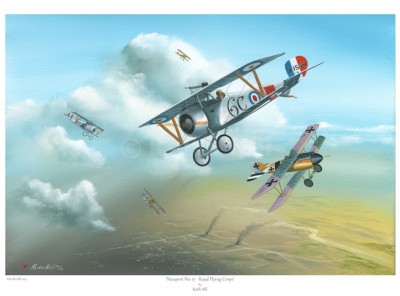 -A4 Print- Nieuport Nie 17 – Royal Flying Corp
