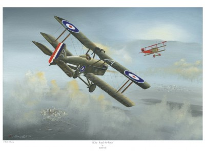 -A4 Print- SE5A – Royal Air Force