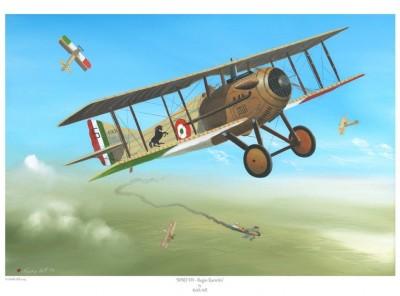 -A4 Print- SPAD VII – Regio Esercito
