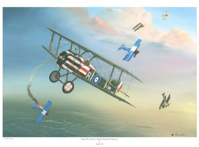 -A4 Print- Sopwith Camel – Royal Naval Air Service